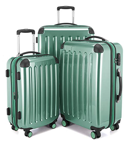 Hauptstadtkoffer - Alex - Set of 3 Hard-Side Luggages Trolley Suitces Expandable, TSA, (S, M & L), Mint