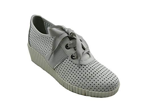 The FLEXX - Zapatillas de Cuero para Mujer Blanco Bianco Blanco Size: 38 EU