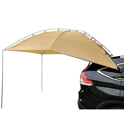 LHQ-HQ Toldo Sun Shelter 350 * 240Cm Camper Remolque Carpa Techo Toldo Impermeable para Automóvil para SUV Minivan Hatchback