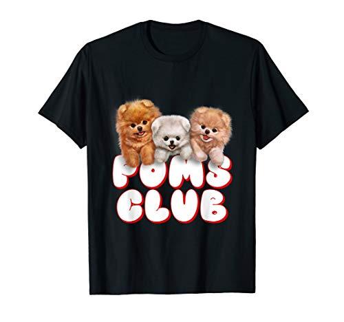 T-Shirt, Cute Pomeranian Puppy, Poms Club, Baby Dog