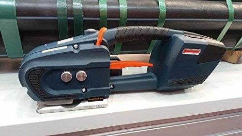PROFI GERÄT: automatisches Akku Umreifungsgerät Umreifung elektrisches Handumreifungsgerät für PP und PET Band 16mm * von unipak