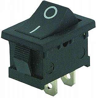 WippenTaster, Einbautaster, Federwippe, 3A/230V, Taster, 19 x 12mm, EIN/AUS, S32