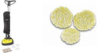 Kärcher FP303 Aspiro-cireuse & 2.863-198.0Karcher Pads de polissage pour sols en pierre, linoléum et PVC accessoire pour a...