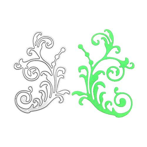 Tree Vine Metal Cutting Die, Die Cuts Stencil Cutting Template Moulds Scrabooking Supplies for Invitation Card Making, Paper Crafting, Envelope, Emboosing, DIY Photo Album