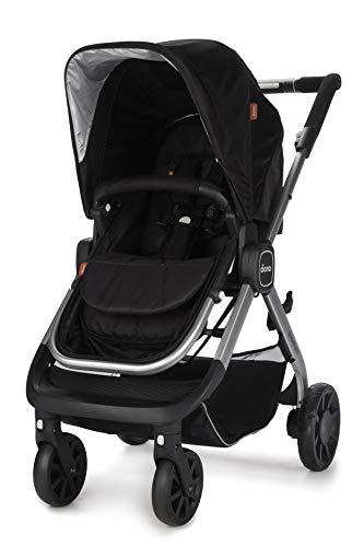 Diono Quantum, 3-in-1 Luxury Stroller, Black