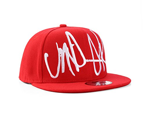 Underground Kulture Casquette de base-ball modèle « Troublesome » – divers coloris, Red, Ajustable