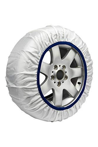 Easysock CAD8016 1 Juego de 2 Cadenas Textiles Nieve Coche Talla XL Rápido y fácil de Instalar. Consultar Tabla Aplicaciones