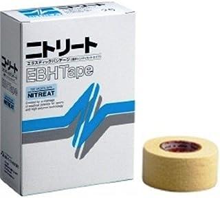 ニトリート(NITREAT) エラスティックテープ 粘着伸縮布包帯(薄手ハンディーカットタイプ)25mm 12巻入 EBH-25