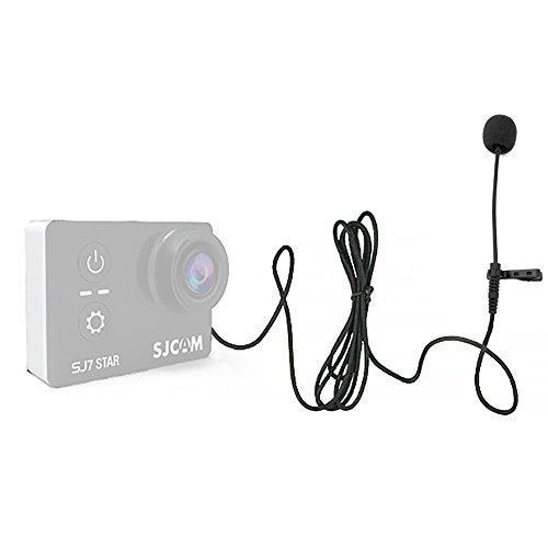Original SJCAM Accessories External Microphone MIC for SJCAM SJ6 Legend /SJ7 Star /SJ360 Sports Mini Camera(Cable Length: 142cm)