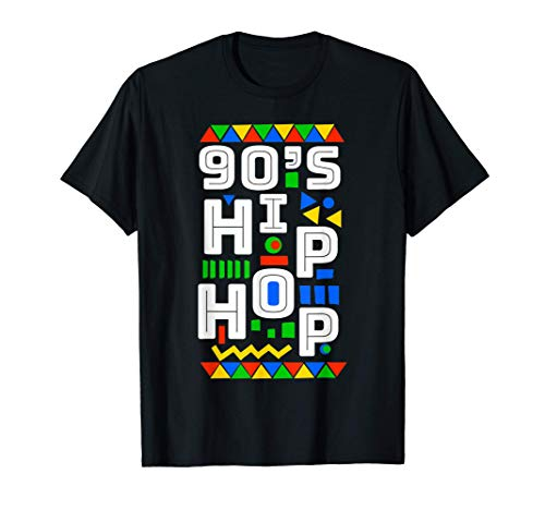 Modello retrò Hip Hop Vibes anni '90 Maglietta