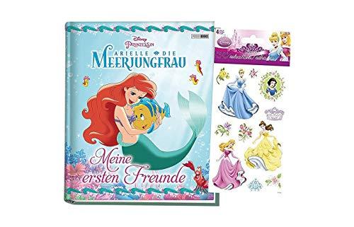 Panini Disney Prinzessin: Arielle die Meerjungfrau: Meine ersten Freunde (Kindergartenfreundebuch) + 1 Prinzessinnensticker