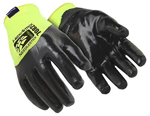 HexArmor Sharpmaster 7082 Stichschutz-Handschuhe mit hohem Schnittschutz, Grün, Größe: 9