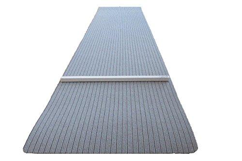 autix Dartteppich 66 x 280 cm grau Steeldart Dartmatte hochwertig robust mit Oche