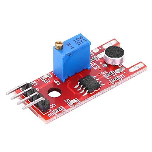 Oumefar 5pcs Micrófono IC KY-038 Módulo de Sensor de Sonido Amplificador de...