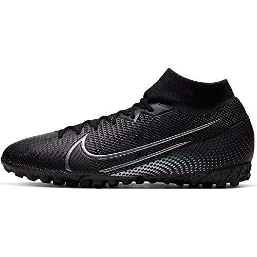 Nike Herren Superfly 7 Academy TF Fußballschuhe, Schwarz (Black/Black 010), 41.5 EU