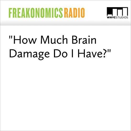 """""""How Much Brain Damage Do I Have?"""" audiobook cover art"""