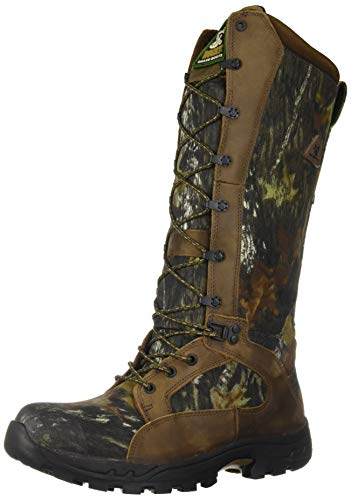 Rocky Men's Waterproof Snakeproof Hunting Boot Knee High, Mossy Oak Breakup, 13 M US