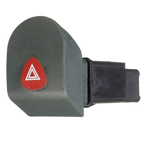 Botón de Interruptor Corto de Advertencia de Peligro de Coche 7700308821 para Renault Kangoo Verbalize 1998-2002