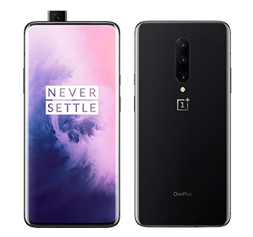 OnePlus 7 Pro 256GB ROM 8GB RAM Factory Unlocked 6.67 inch QHD+ AMOLED 90Hz Display Dual SIM Mirror Gray