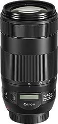 Canon 0571C005 Telezoomobjektiv EF 70-300mm F4-5.6 IS II USM für EOS (67mm Filtergewinde, AF-Motor, Nano USM), schwarz