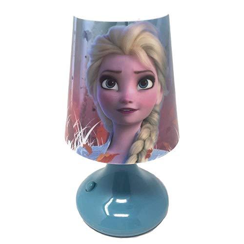 cart Luz lámpara Frozen II Elsa Anna Disney escritorio mesita de noche en caja regalo