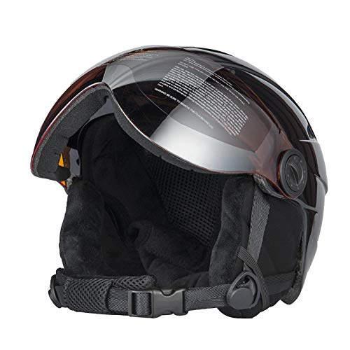 Algemeen Ski Helm met Goggles Halve Cover Skihelm Goggles Outdoor Sport Snowboard Helm