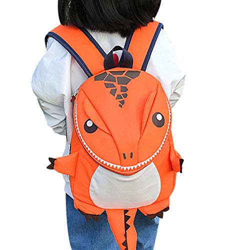 Mochila pequeña para niños, diseño de dinosaurio, mochila escolar, niña, niña, niño, mochila, animales, para guardería,escuela primaria y preescolar, Backpack Picnic