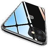 【驚きの透明感】iPhone 11 ケース(2019新型6.1インチ)は高透明度のドイツ製素材を採用し、iPhone 11本来の美しさと高級感をそのままに楽しめます。 【360°全面保護】前面と背面をデバイスより高く設計し、液晶画面とカメラレンズをしっかり保護します。また四隅のコーナー部分には独自のエアクッションを搭載しており、落下時の衝撃を最大限に吸収することができ、全方位から本体をしっかり守ります。 【側面にも優しい素材】バンパー部分はSGS認証されているドイツ製のTPU素材を採用、より柔ら...