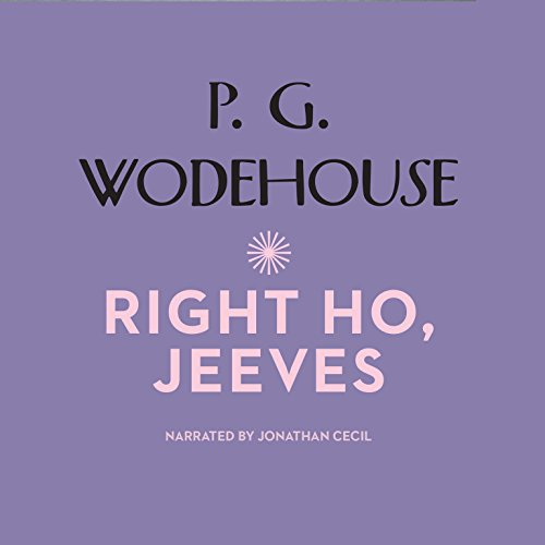 Right Ho, Jeeves cover art