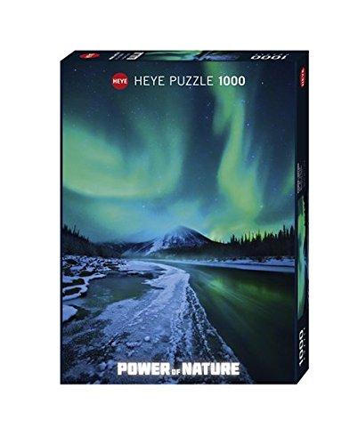 Heye- Puzzle Aurora Boreale, 1000 Pezzi, Multicolore, 29549