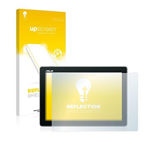 upscreen Entspiegelungs-Schutzfolie kompatibel mit Asus ZenPad 10 Z300C / Z300CL / Z300M – Anti-Reflex Bildschirmschutz-Folie Matt