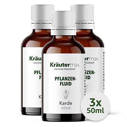 Kardenwurzel Tropfen Essenz Extrakt Kardentropfen 3 x 50 ml