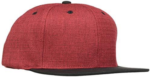 Flexfit Mütze Melange 2-tone Snapback red/Blk, one size