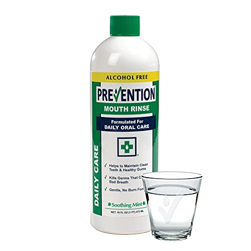 Prevention Daily Care Alcohol Free Mouthwash 16 Ounce | Zero...