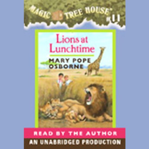 Lions at Lunchtime audiobook cover art
