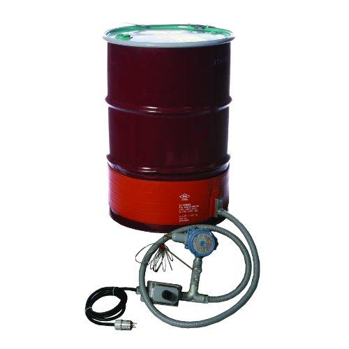 Best Bargain BriskHeat DHCX151300T4A DHCX Hazardous-Area Rated Drum Heater For T4A Rated Environment...