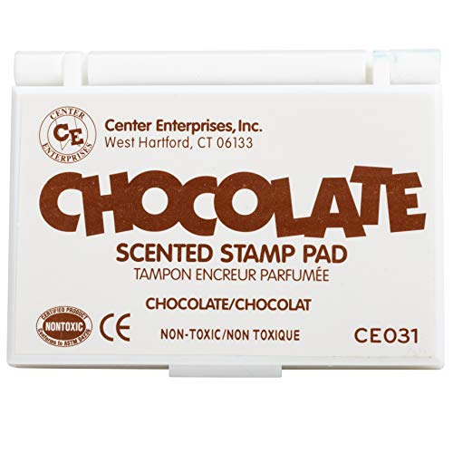 Center Enterprises Inc. Scented Stamp Pad, Chocolate/Brown