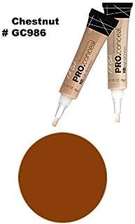 LA Girl Pro High Definition Concealer (3, GC 986 Chestnut)