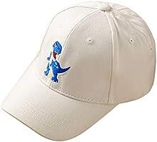 Hinzonek Spädbarn Baseball Cap Dinosaurie Broderad Unisex Baby Bomull Solhatt Utomhus Hatt Justerbar