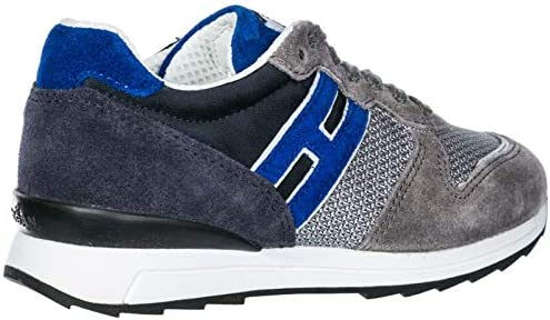 Hogan Rebel Sneakers Running - r261 Bambino Grigio 29 EU : Amazon ...