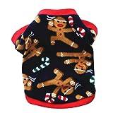 PetPhindU Maglioni Modello di Natale Abiti per Cani di Piccola Taglia Media, Partito Felpa Cappotto di Natale per I Vestiti Panno Morbido del Cane Cappotto Caldo