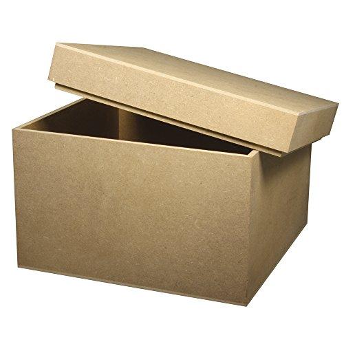 RAYHER 62421000 MDF Box, 20 x 20 x 15 cm