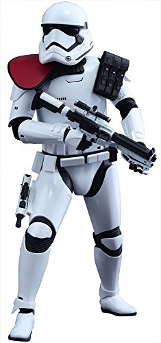 Star Wars HOT TOYS Movie Masterpiece The Force Awakens FIRST ORDER STORMTROOPER OFFICER 1/6TH SCALE COLLECTIBLE FIGURE image