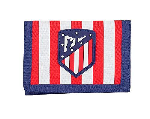 Safta 811958036, Atlético Madrid Billetero-monedero Niños Unisex, varios, 13x10