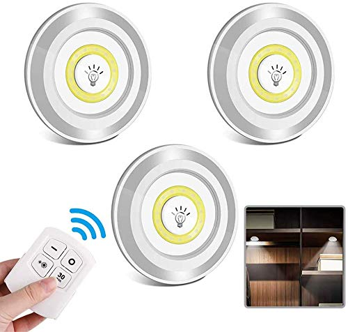 Led Spot Batterie LED Lampe Batteriebetrieben...