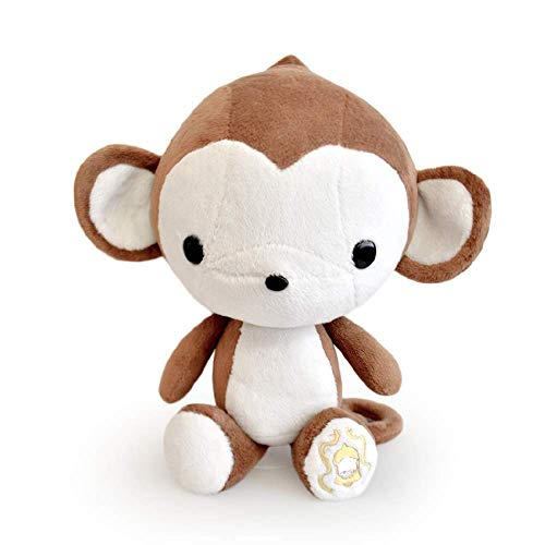 Bellzi Brown Monkey Cute Stuffed Animal Plush Toy  Adorable Soft Monkey Toy Plushies and Gifts  Perfect Present for Kids Babies Toddlers  Monki