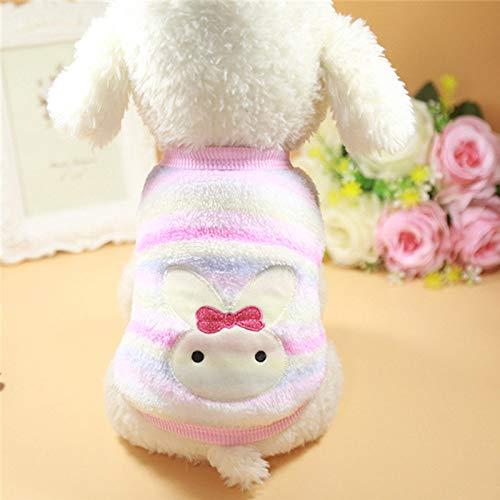 Teene Cat Clothing – Autumn Winter Warm Cat Clothes für Katzen Sphynx Soft Fleece Kitty Coat Jackets Cute Cartoon Cat Kostüme Pets Clothing – 1 Stück