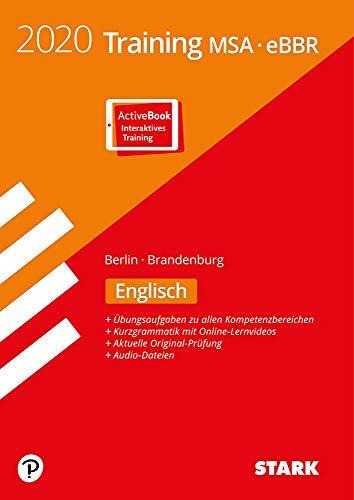 STARK Training MSA/eBBR 2020 - Englisch - Berlin/Brandenburg: Ausgabe mit ActiveBook