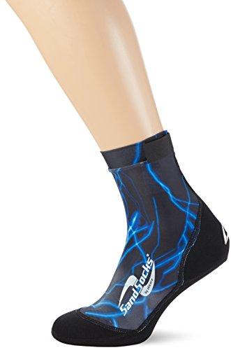 Sand-Socks Unisex Erwaschene by Vincere Socke, Blitz, M