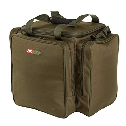 JRC Defender Bait Bucket and Tackle Bag, Green Moss